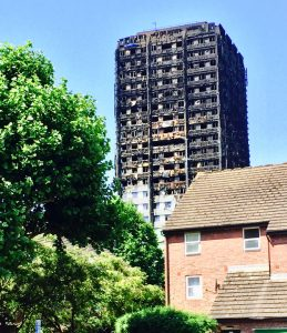 Grenfell Tower - photo credit: David Wallace